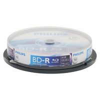 Philips - BD-R Pack of 10 on Spindle