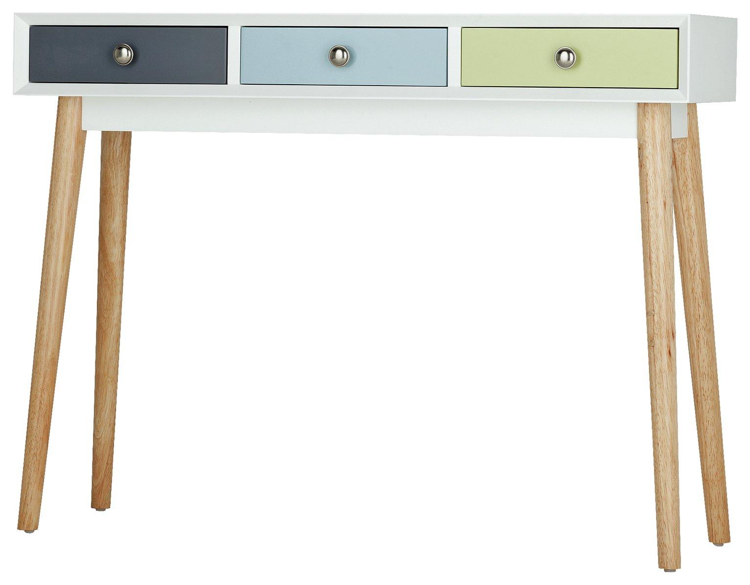 Argos Home Lumina Console Table - Multicoloured