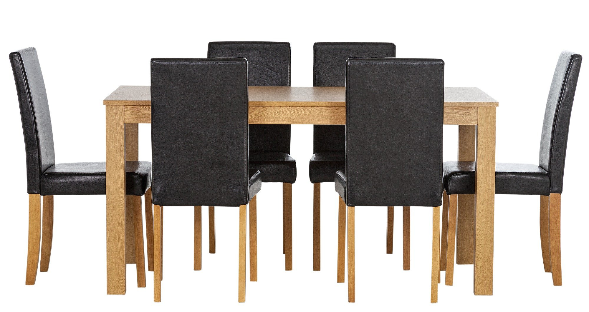 Buy HOME New Elmdon Oak Stain Dining Table and 6 Chairs  : 4817165RZ001AWebampw570amph513 from www.argos.co.uk size 570 x 513 jpeg 23kB