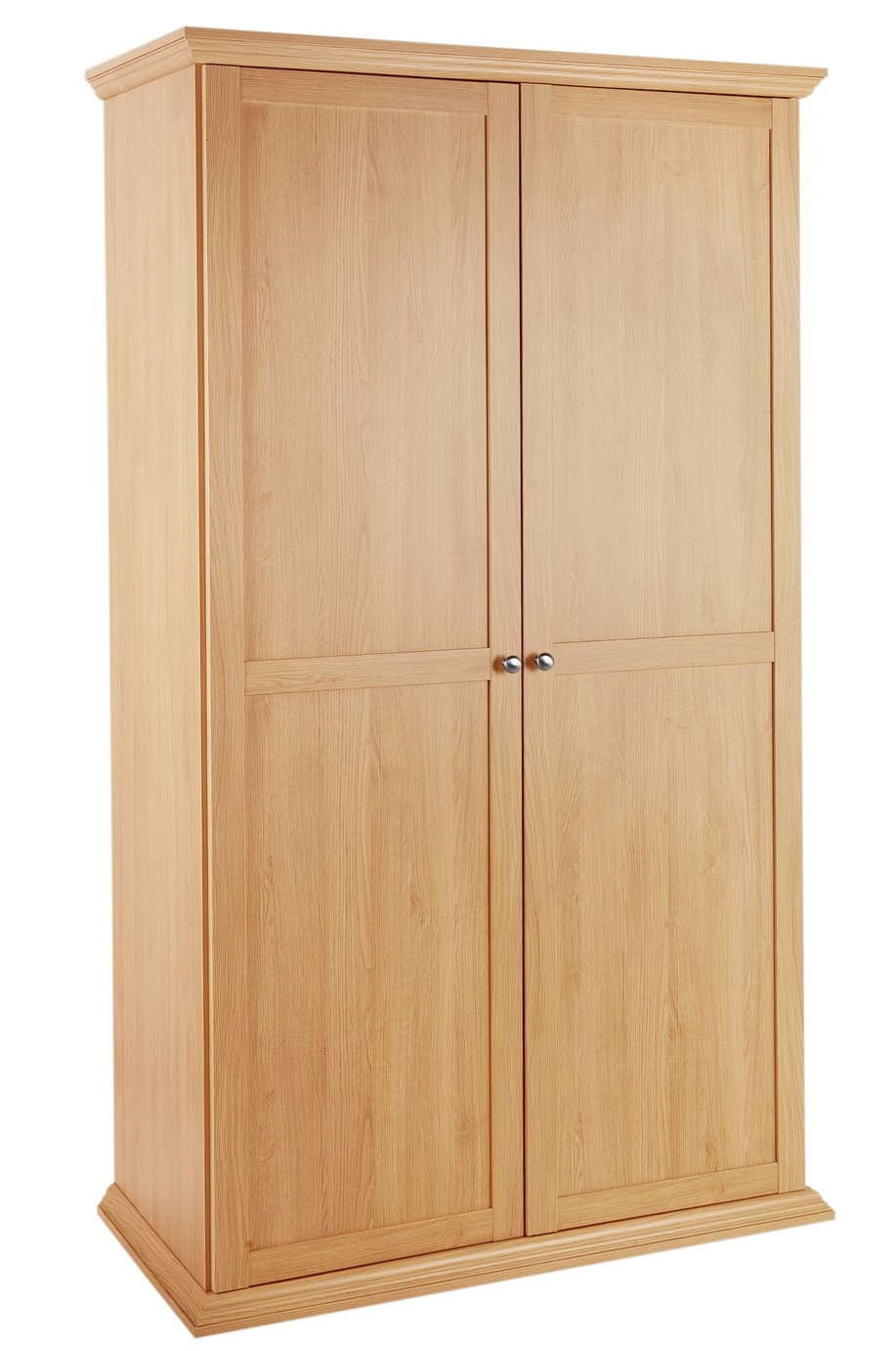 Argos Home Canterbury 2 Door Wardrobe - Oak Effect