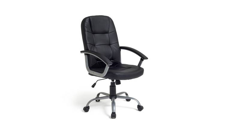 Habitat Walker Height Adjustable Office Chair - Black