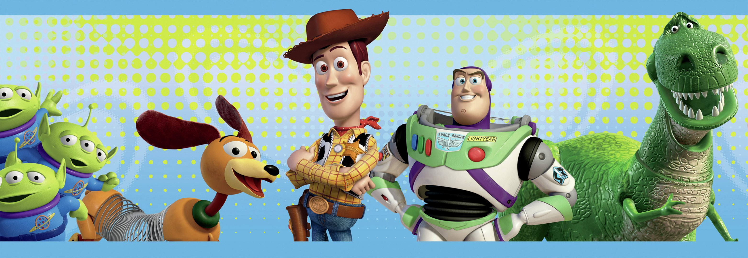 disney toy story 3 border wallpaper sample.