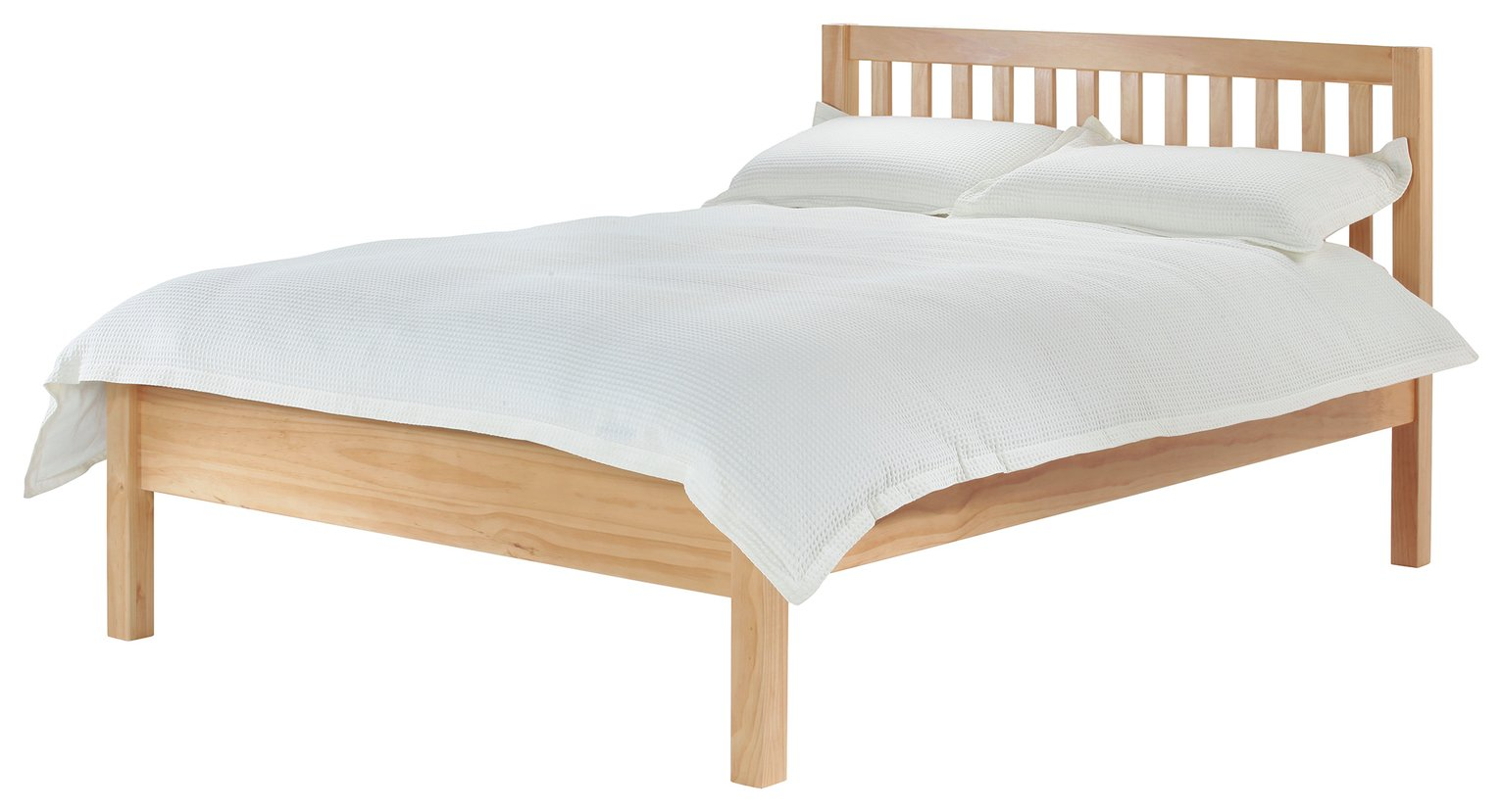 Silentnight Hayes Double Bed Frame - Pine