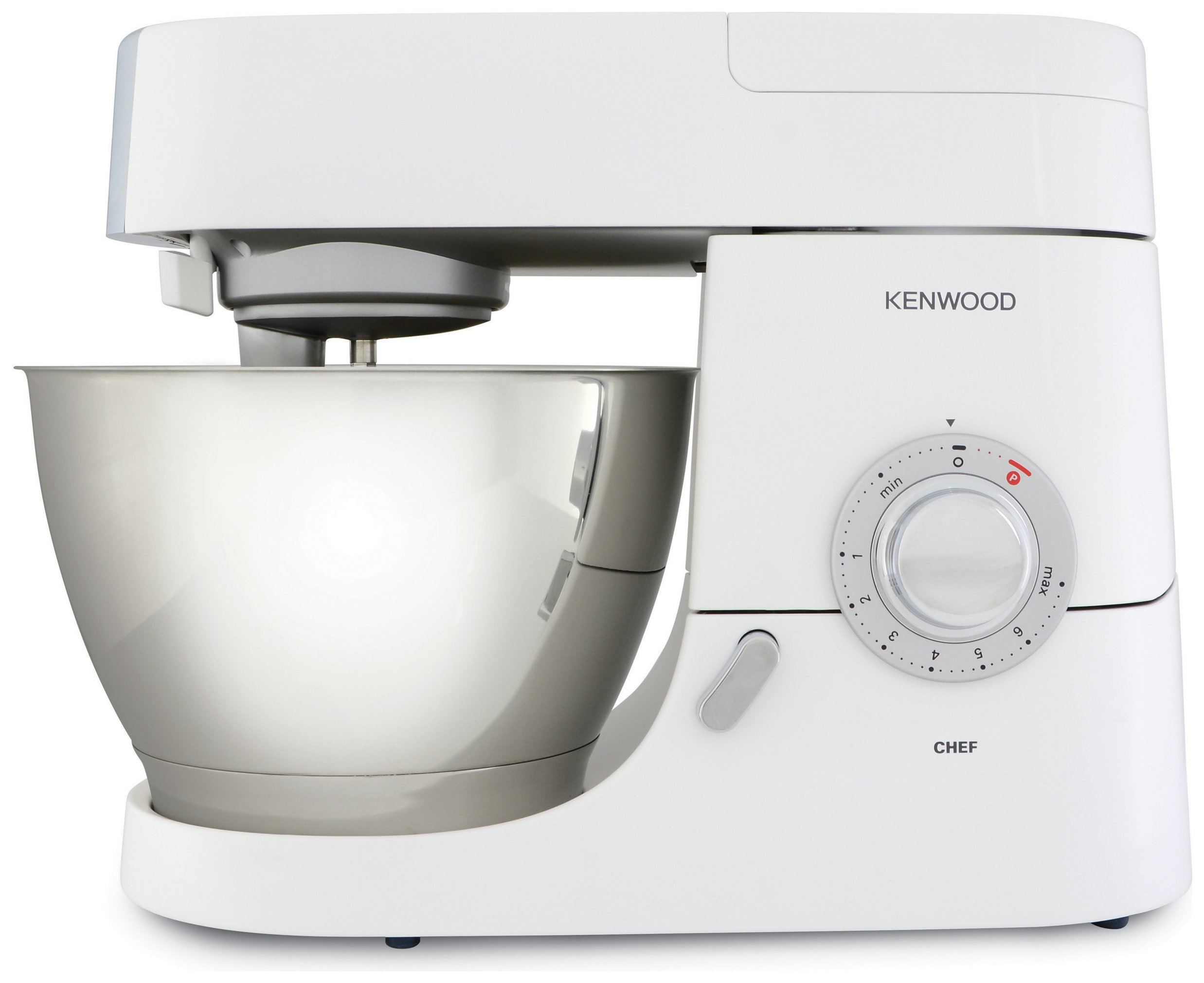 Kenwood kmc515 chef kitchen machine white octer for Cuisson vapeur kenwood cooking chef