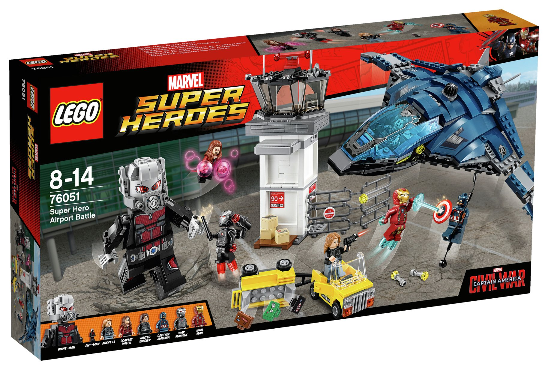 Image of LEGO - Super Heroes Captain America - 76051