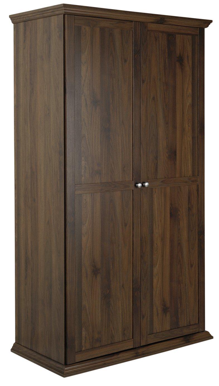 Argos Home Canterbury 2 Door Wardrobe - Walnut Effect