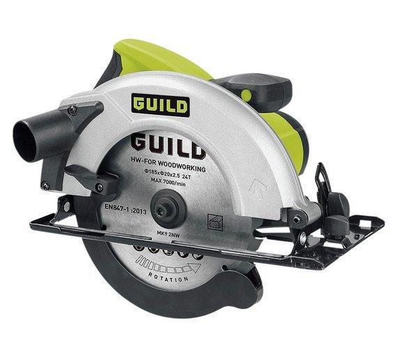 Guild - 185mm Circular Saw - 1400W