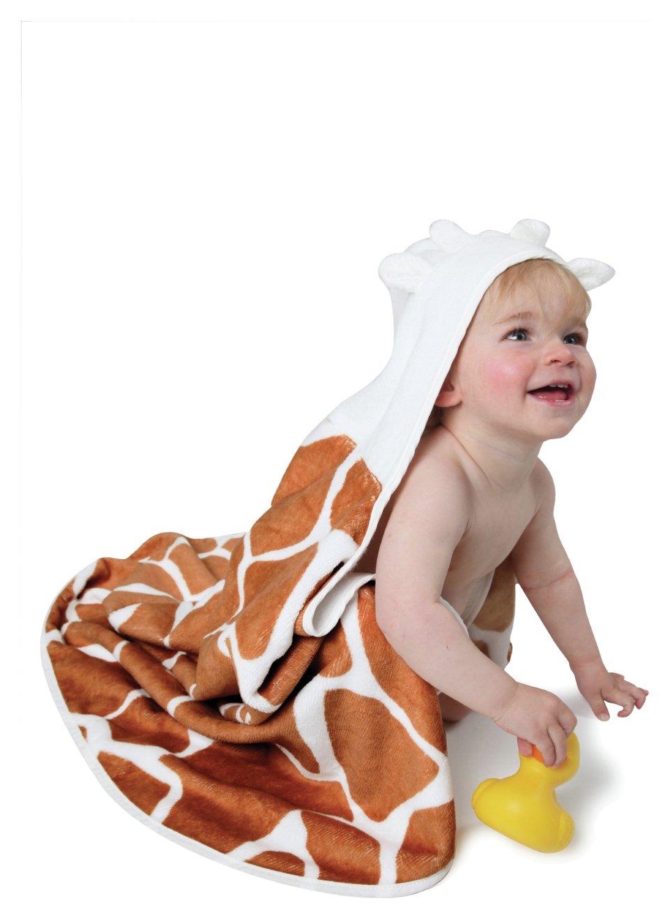 Image of Cuddledry - Toddler Towel Cuddle Safari