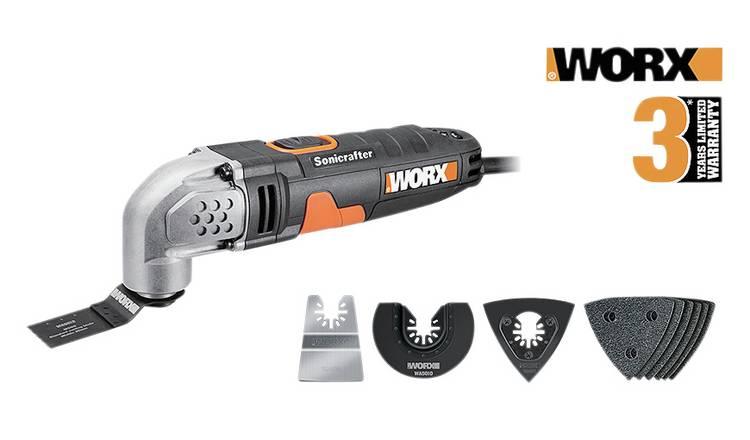 Buy WORX WX667 1 Sonicrafter Oscillating Multi-Tool - 230W | Multi-tools |  Argos
