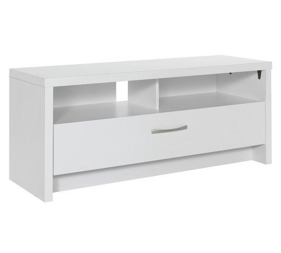 Argos home venice tv unit white