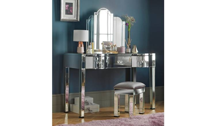 Argos Home Canzano 3 Drawer Dressing Table - Mirror