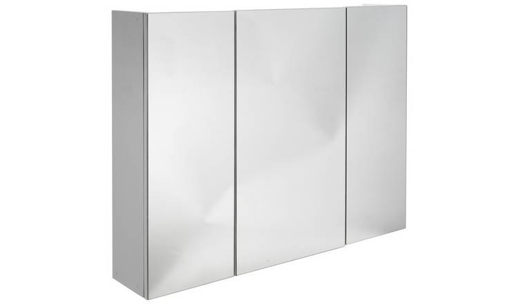 Buy Argos Home 3 Door Mirrored Bathroom Cabinet Bathroom Cabinets Argos