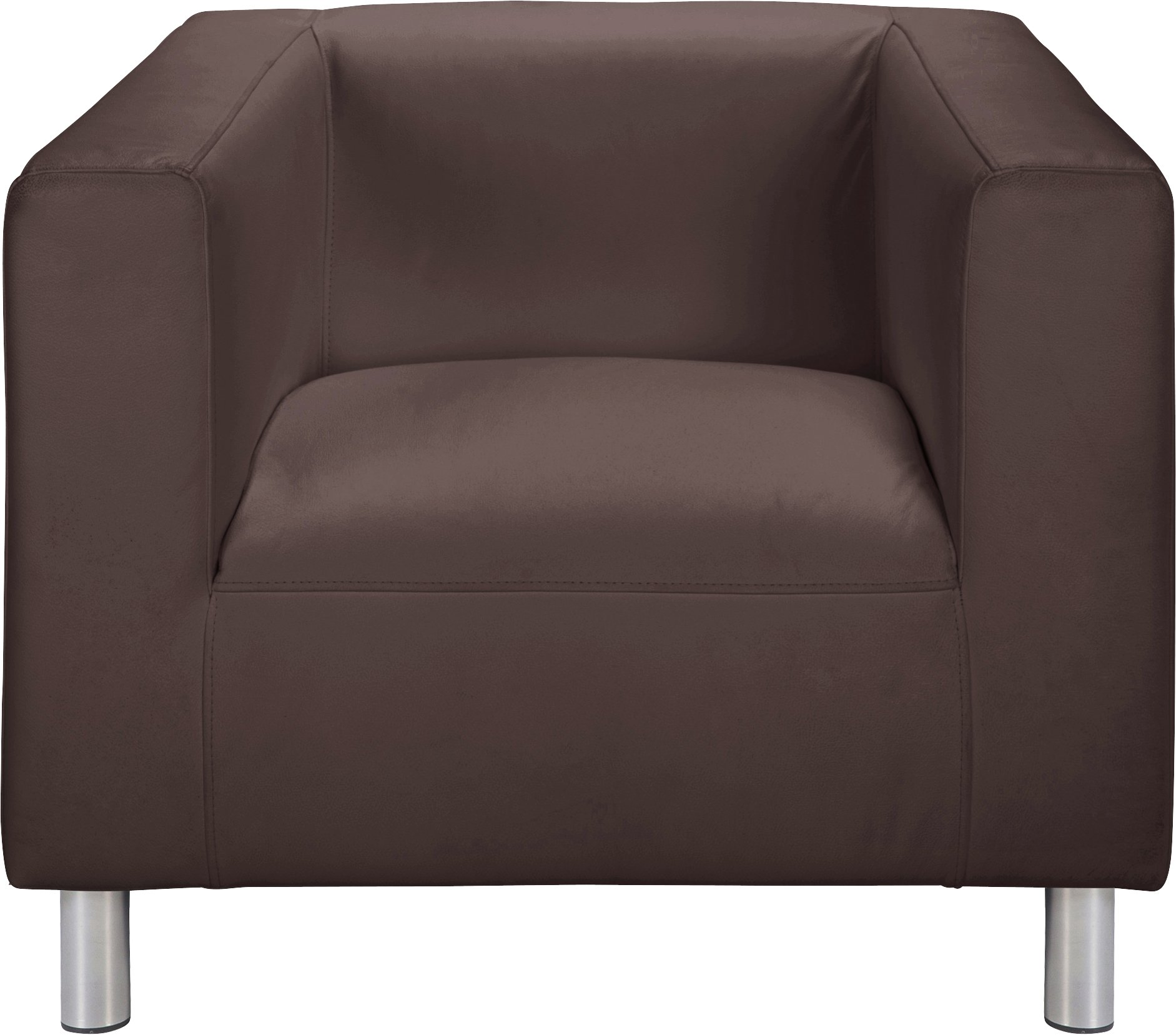 Argos Home Moda Faux Leather Armchair - Brown