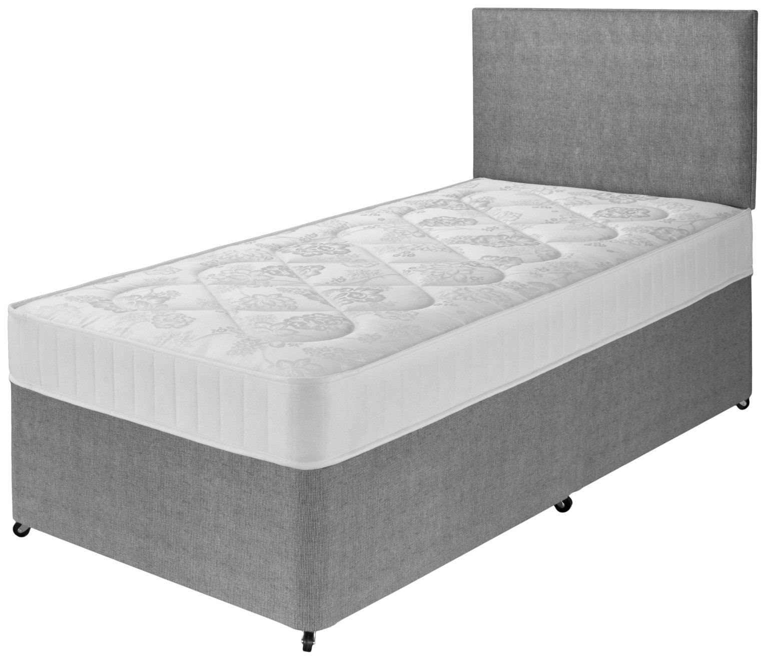 airspring elmdon comfort single divan bed. Black Bedroom Furniture Sets. Home Design Ideas