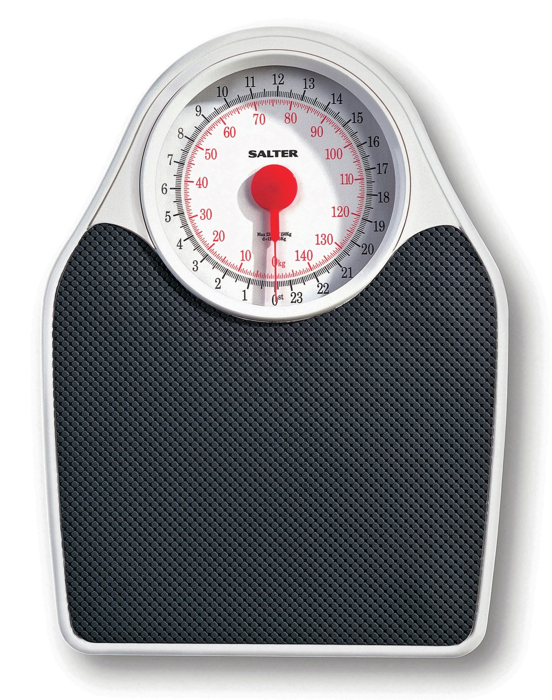 Salter Doctor's Style Mechanical Scale - Black & White