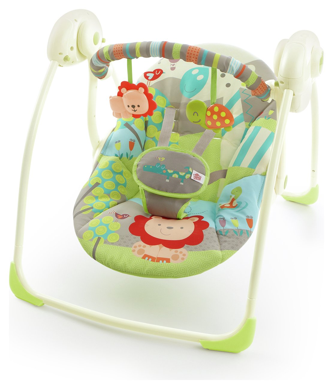 Image of Bright Starts - Up, Up and Away Portable Swing
