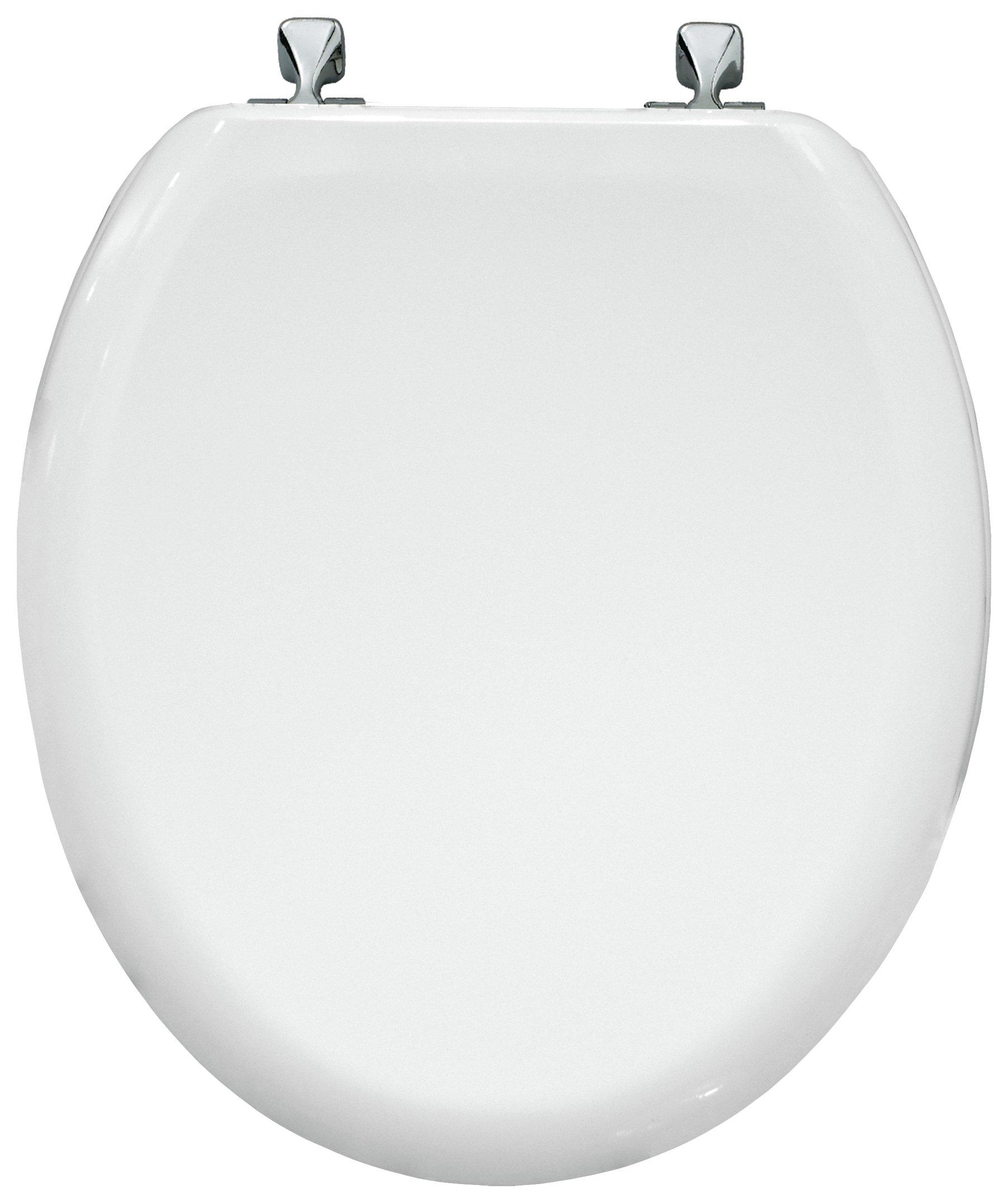 Bemis Fargo Moulded Wood Statite Toilet - White