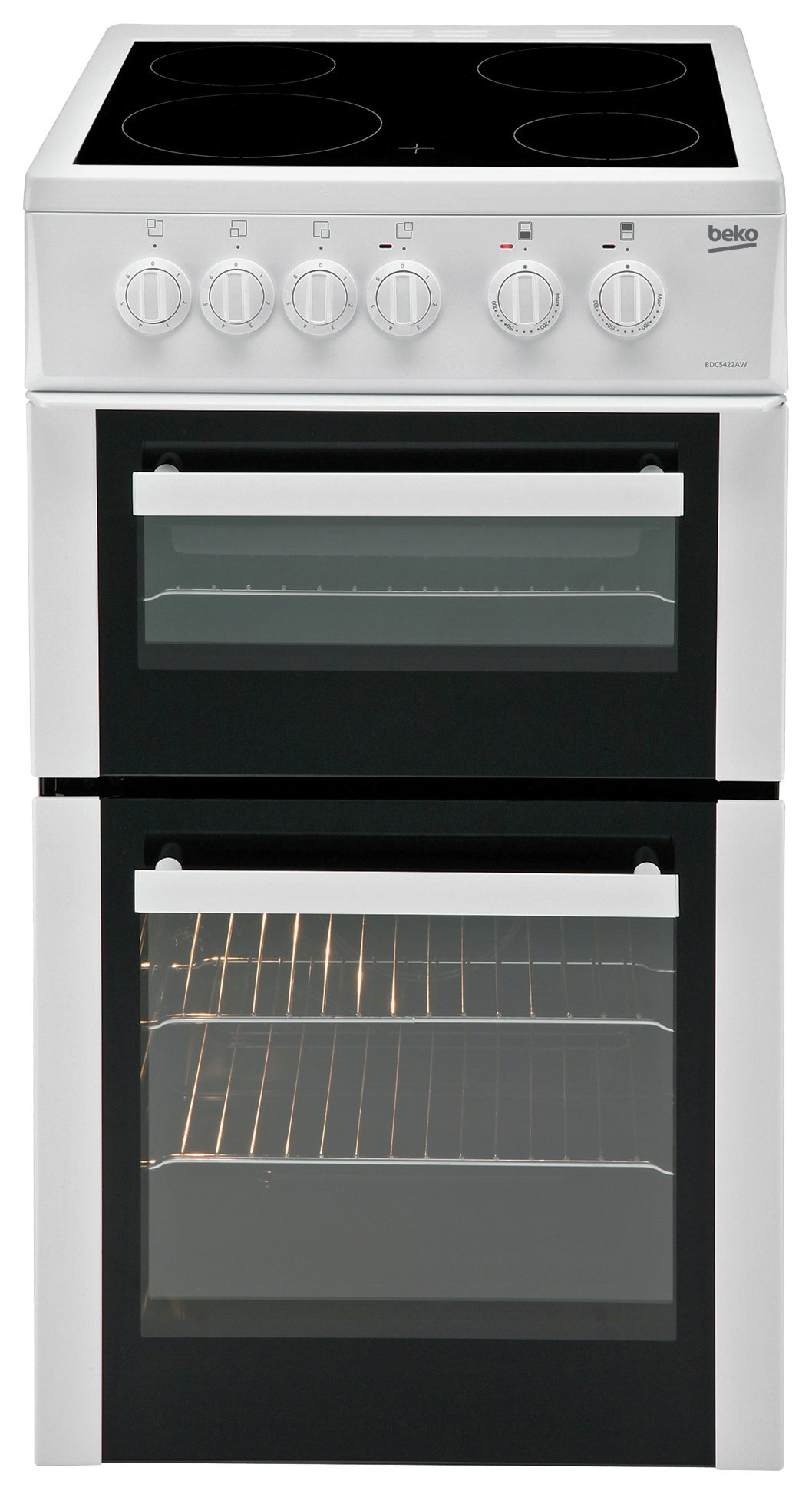 Image of Beko - BDC5422 Twin Cavity - Electric Cooker - White