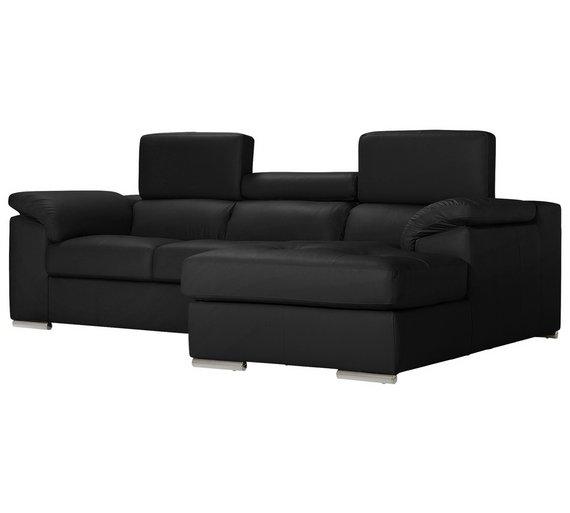 Buy Hygena Valencia Leather Right Hand Corner Sofa - Black | Sofas on divan sofa, cushions sofa, fabric sofa, pillow sofa, chair sofa, futon sofa, bedroom sofa, bookcase sofa, recliner sofa, glider sofa, ottoman sofa, table sofa, settee sofa, storage sofa, lounge sofa, bench sofa, beds sofa, mattress sofa, couch sofa, art sofa,