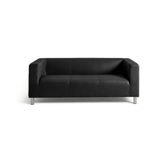 Buy Colourmatch Moda 2 Seater Leather Effect Sofa Jet