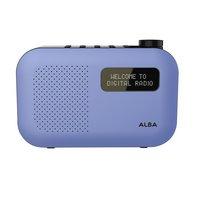 Alba - Mono DAB Radio - Blue