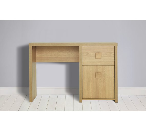 Buy Home Eden Office Desk Oak Effect At Your Online Shop For Desks And