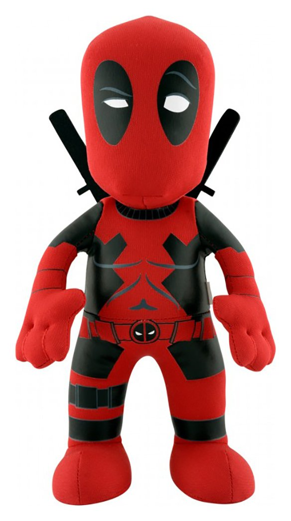 Image of Deadpool Bleacher Creature Plush Toy.