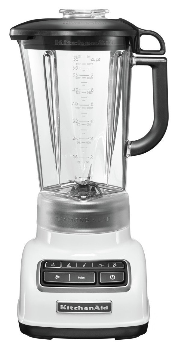 KitchenAid - Classic Diamond Jug Blender - White