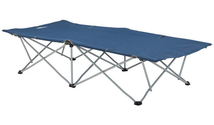 Trespass Single Folding Quickpitch Camping Bed