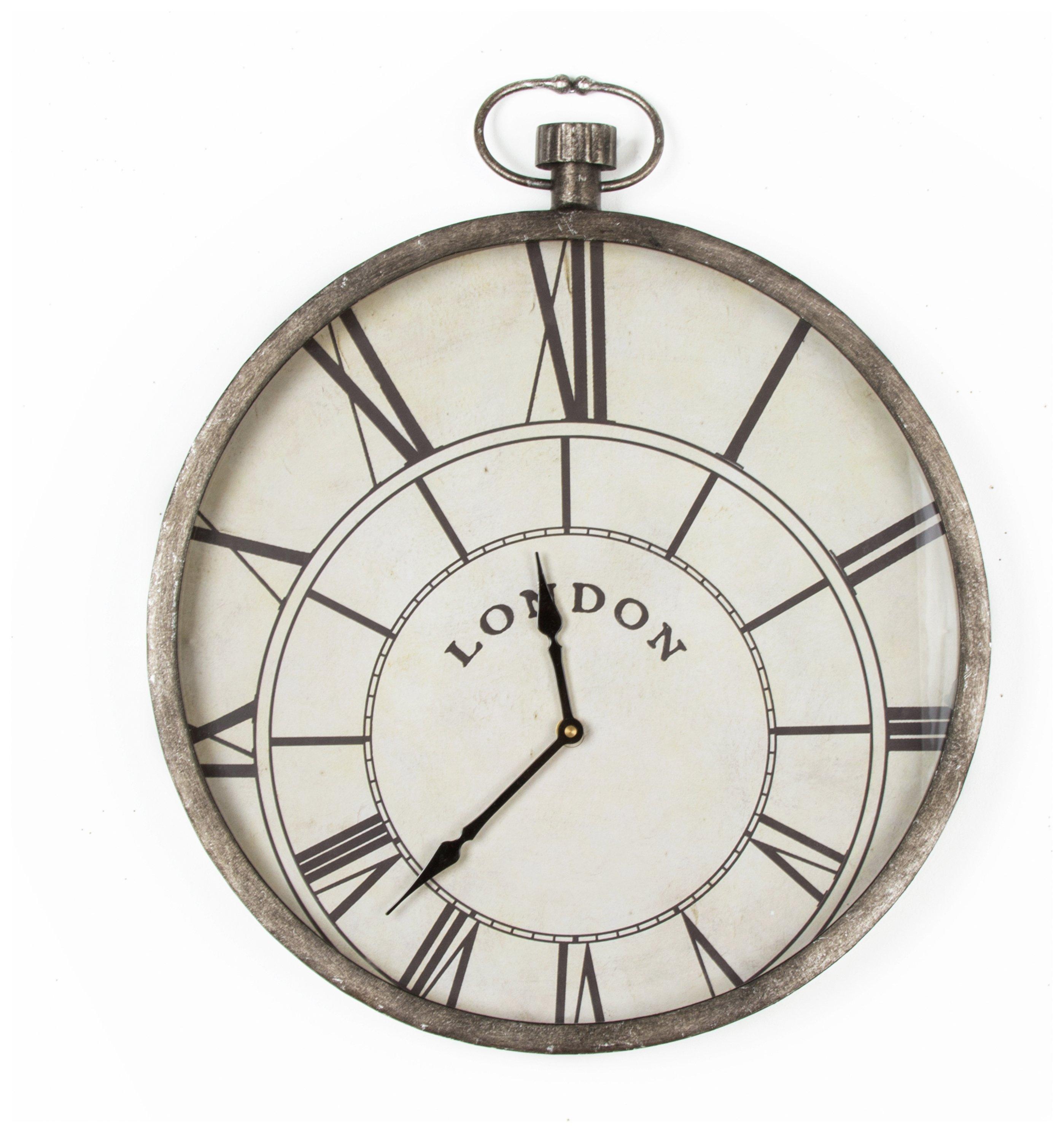 Black Kitchen Clock Argos: Graham Brown Pocket Watch Wall Clock