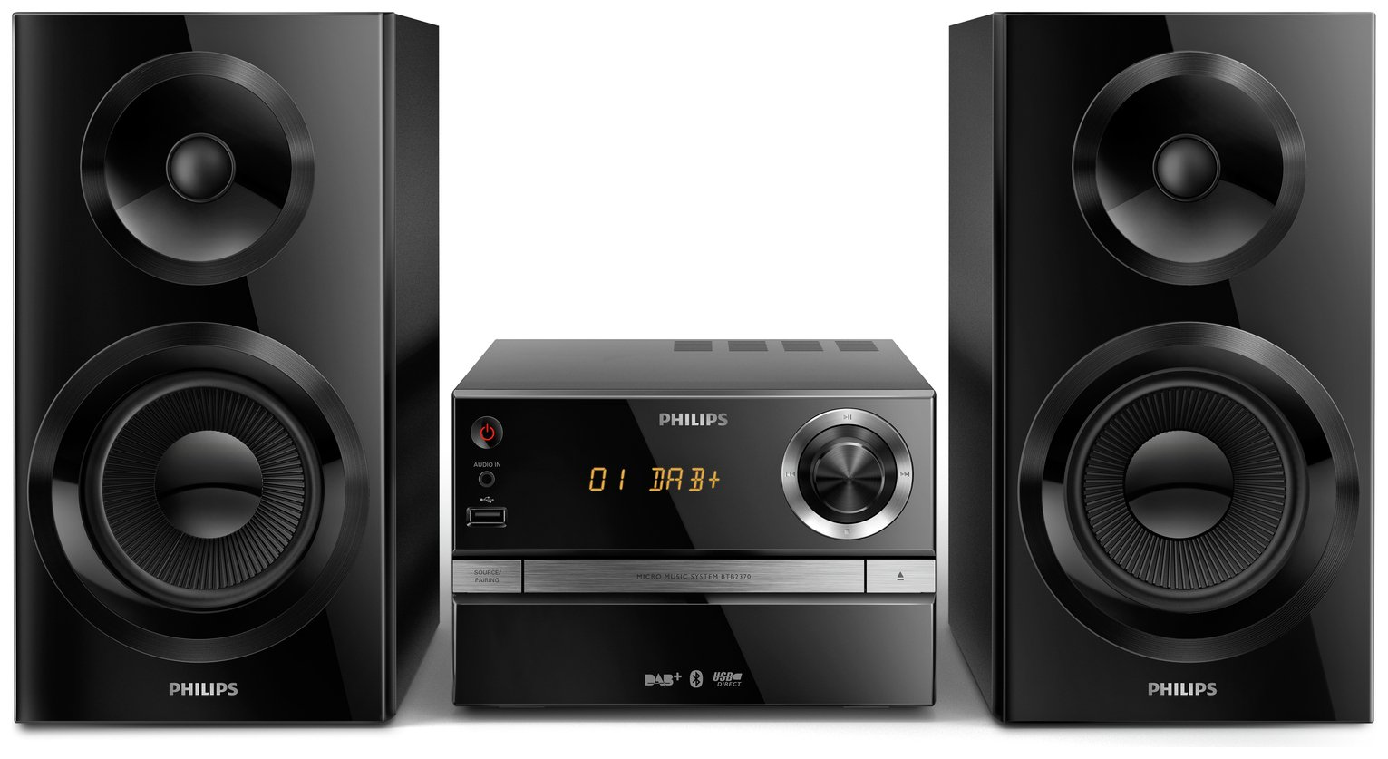 Philips - BTB2370 High Power Bluetooth HiFi Micro Music System