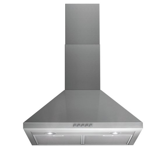 Buy Indesit IHP 64.5 C M IX Built-in Hood - S/Steel at Argos.co.uk ...