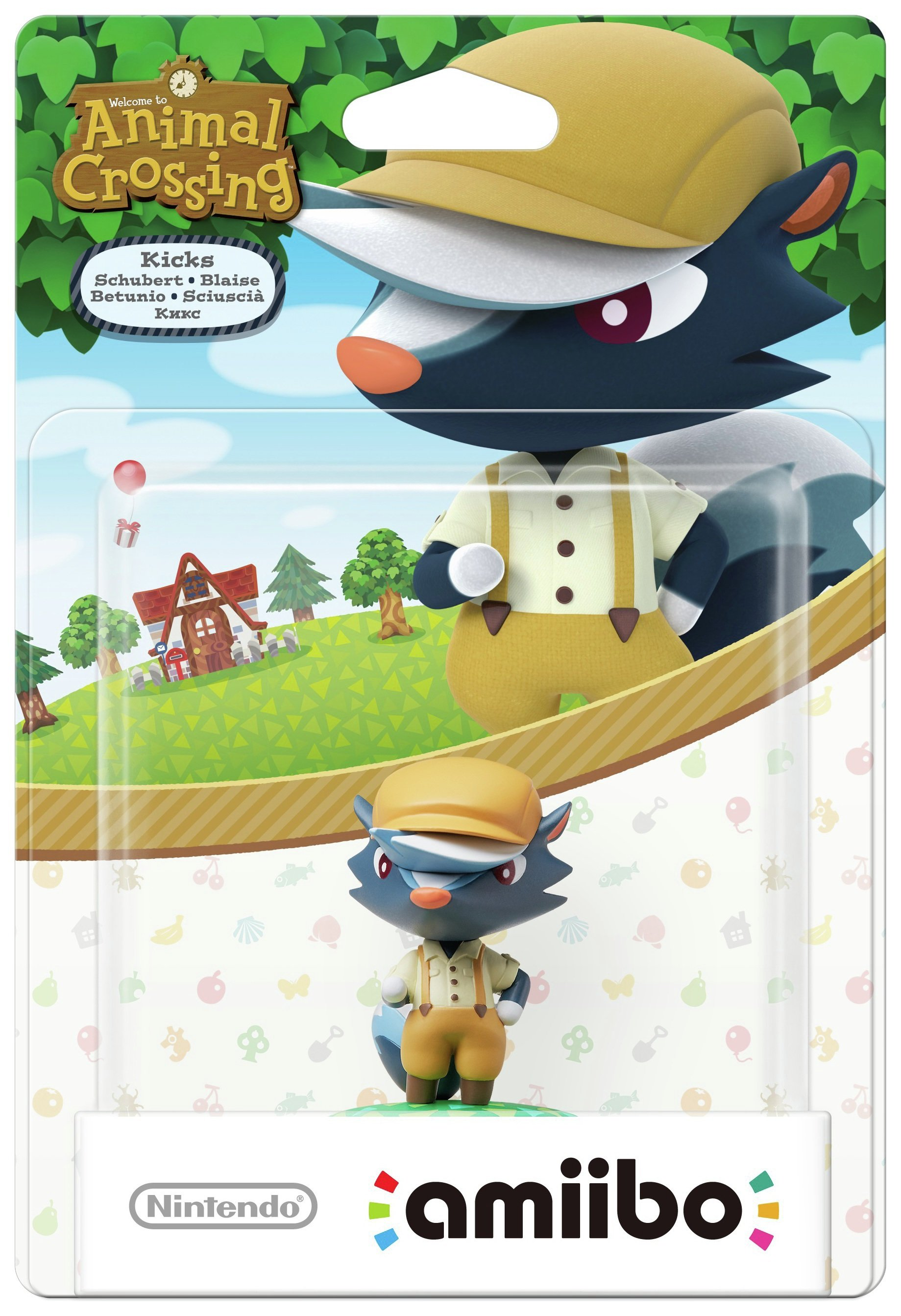 amiibo Animal Crossing Figure - Kicks