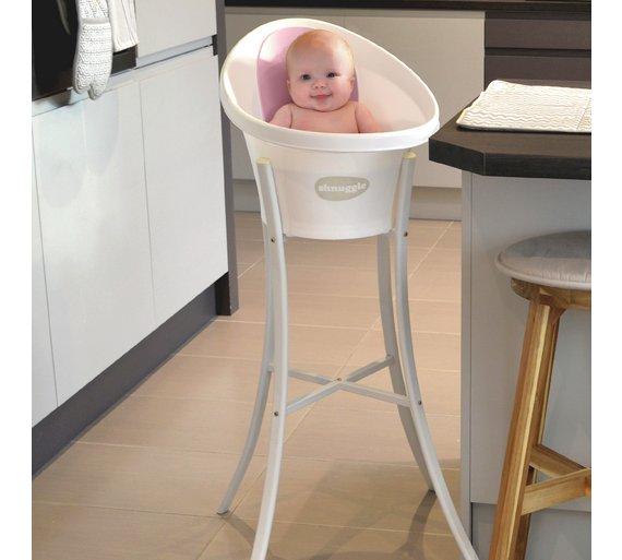 Buy Shnuggle Shnuggle Baby Bath - Pink at Argos.co.uk - Your ...