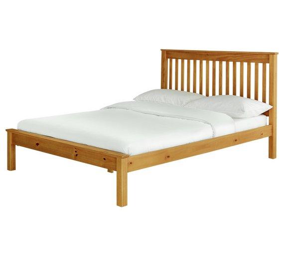 Buy Argos Home Aspley Kingsize Bed Frame - Oak Stain   Bed frames ...