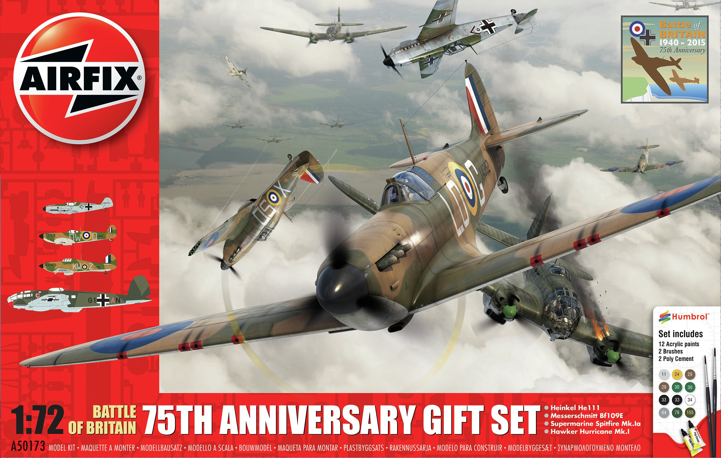 Image of Airfix Battle of Britain Gift Set.