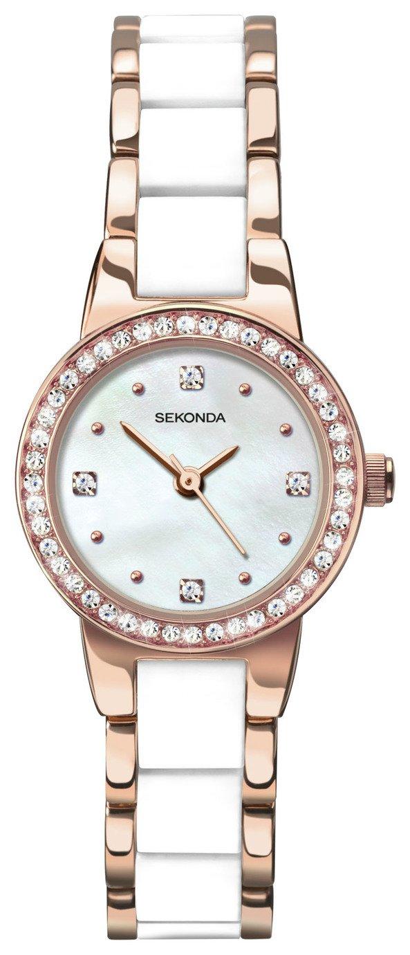Buy Sekonda Editions La s Stone Set Bracelet Watch at Argos