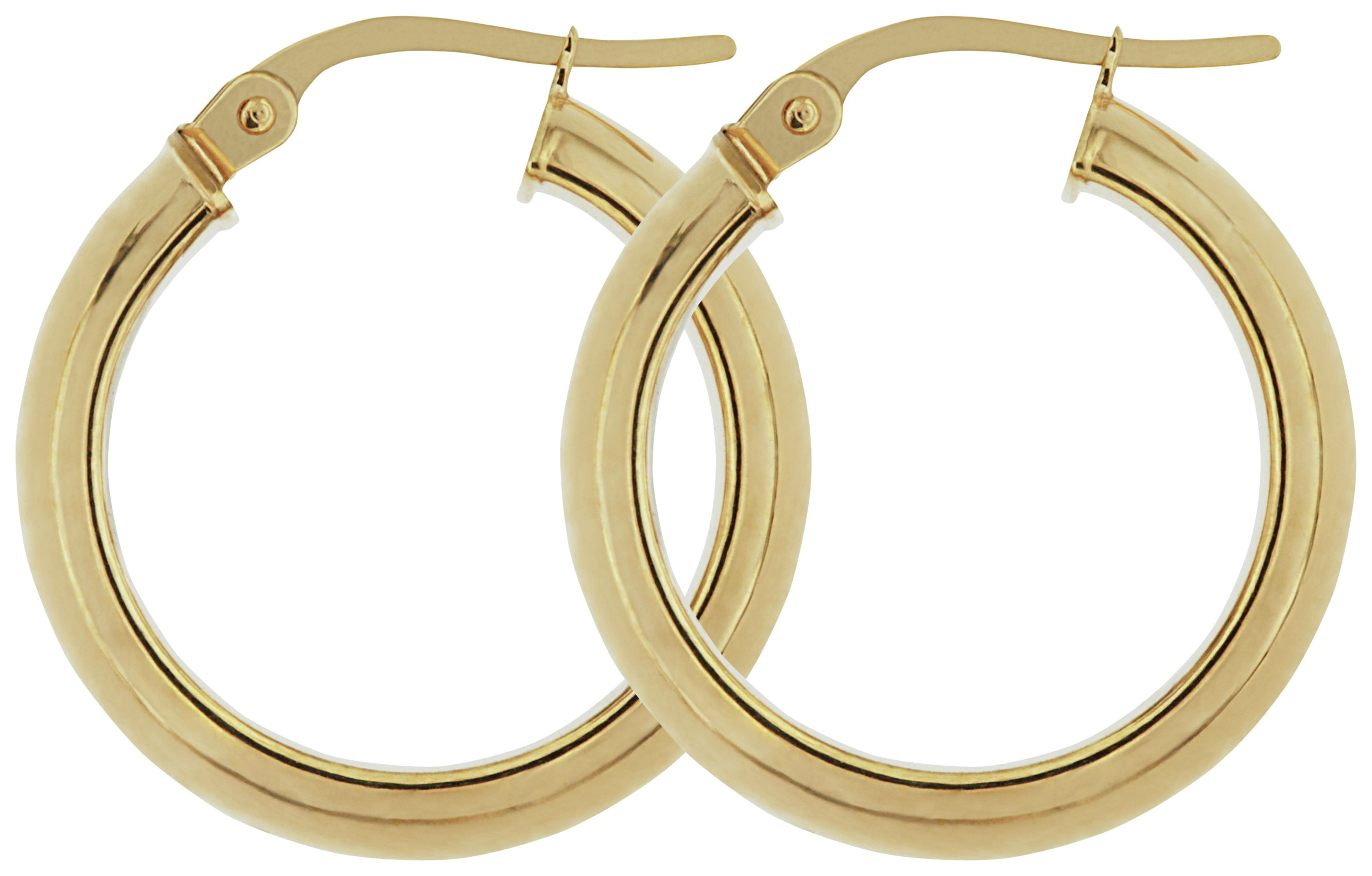 Image of Bracci - 9 Carat Gold - Creole - Hoop Earrings.