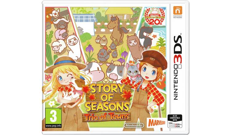 Story Seasons: Trio of Towns Nintendo 3DS Game