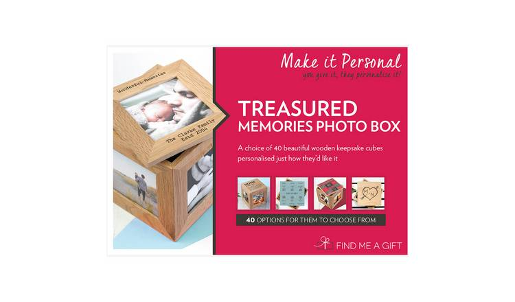 Treasured Memories Photo Box