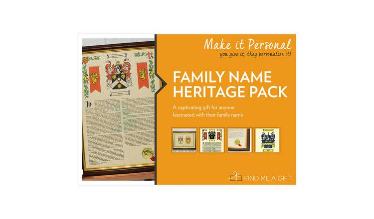 Family Name Heritage Pack