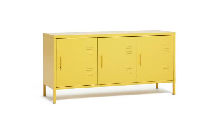 Argos Home 3 Door Locker - Mustard