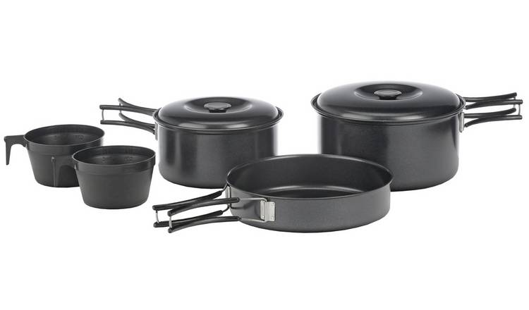 Vango 5 Piece Non Stick Cooking Pan Set