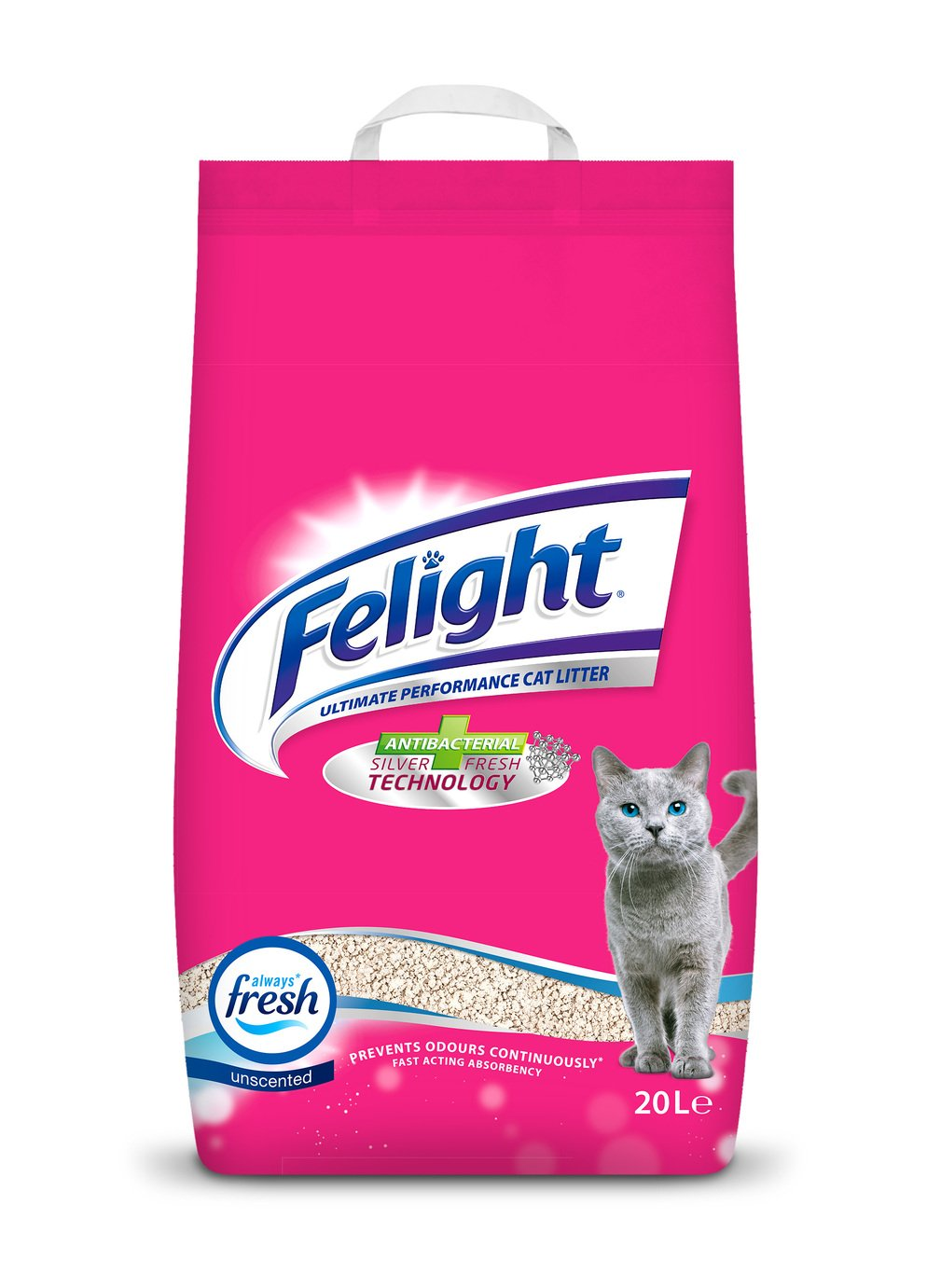 Felight 20L Antibacterial Non-Clumping Cat Litter