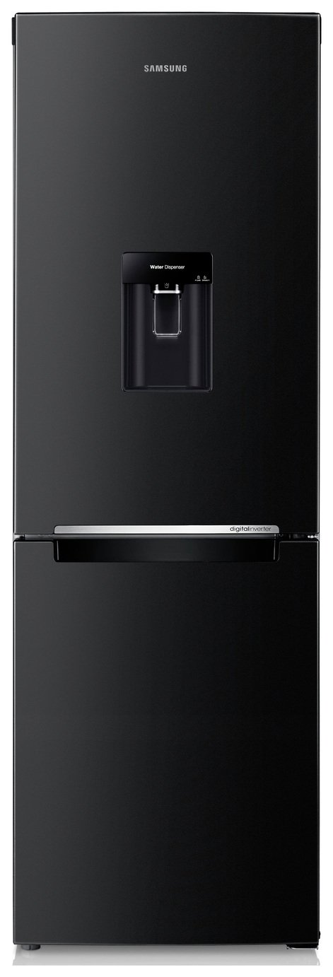 Samsung RB29FWRNDBC Frost Free Tall Fridge Freezer - Black