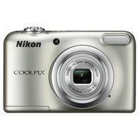 Nikon - Coolpix A10 16MP 5x - Zoom - Compact Camera - Silver