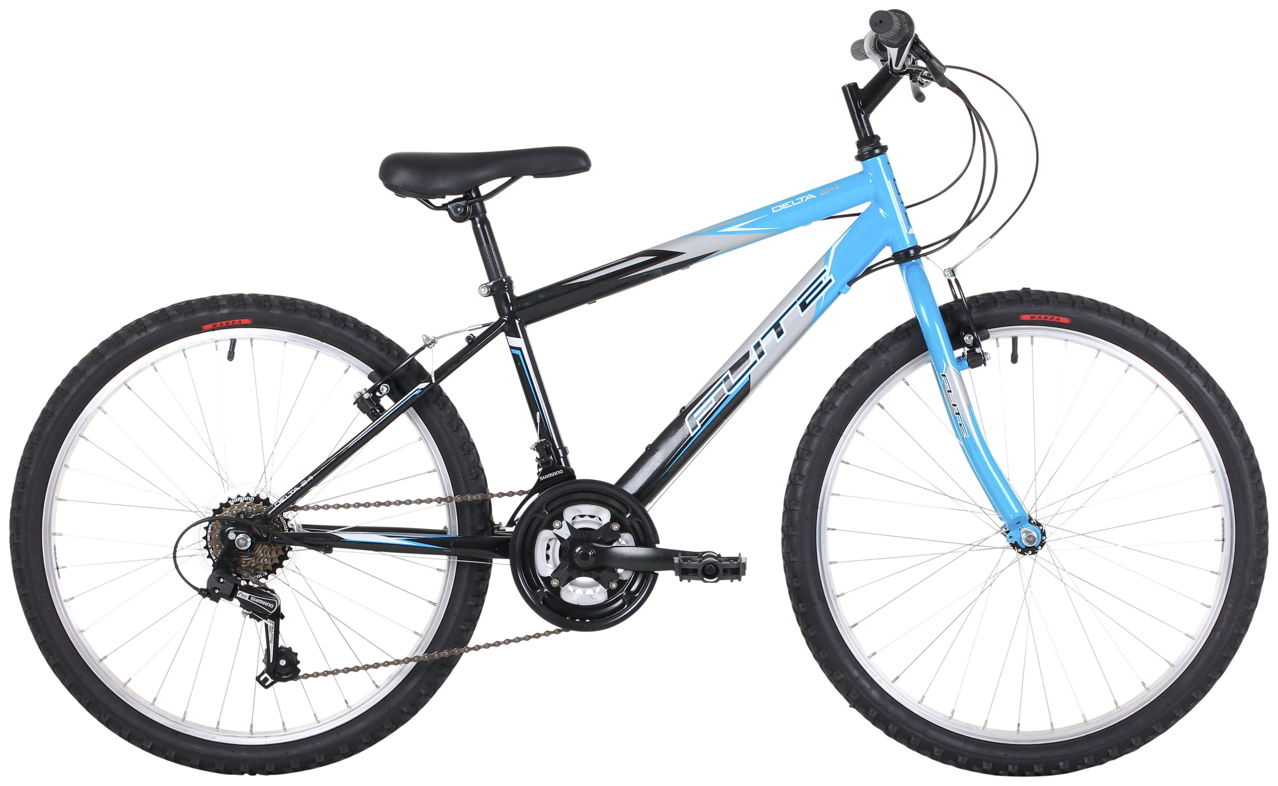 Image of Flite Delta 24 Inch Electric Blue Kids Bike