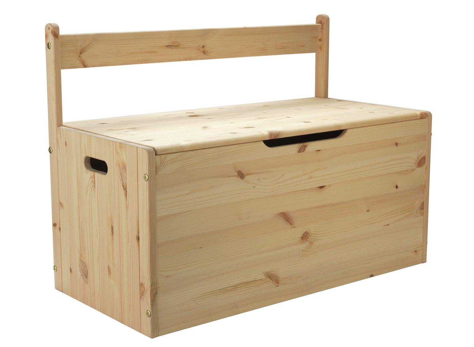 Argos Home Scandinavia Pine Kids Extra Large Toy Box