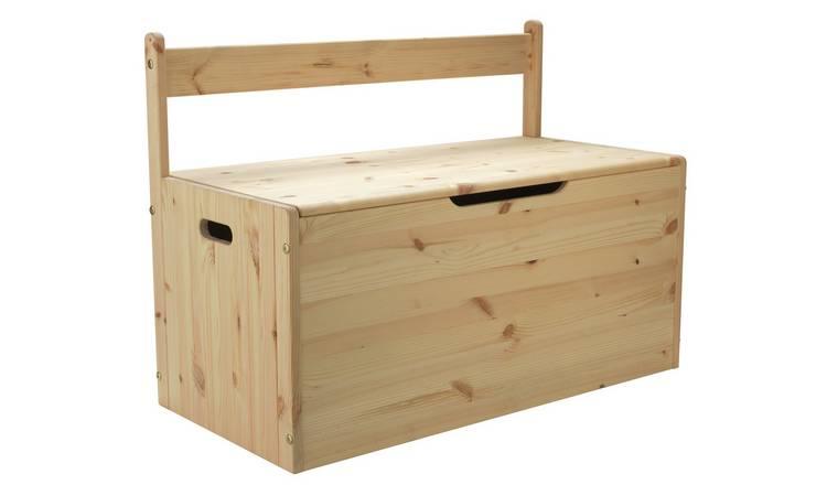 Buy Argos Home Scandinavia Pine Extra Large Toy Box | Toy boxes | Argos