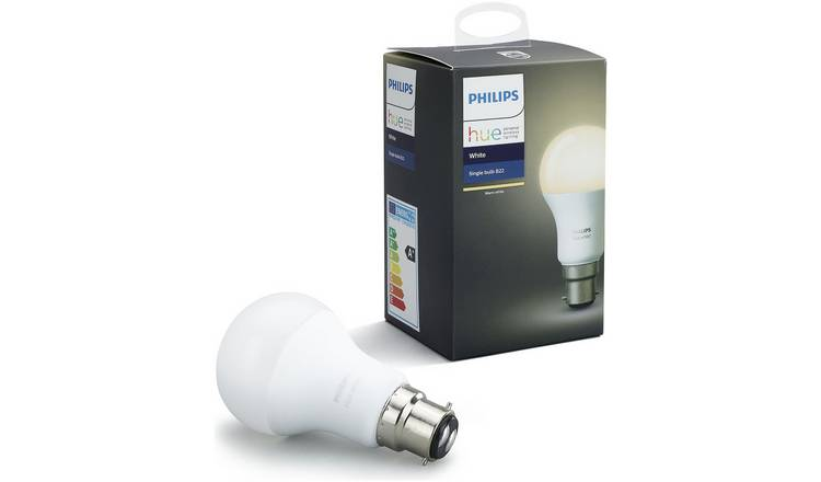 Hue 9 BulbSmart Lighting Led White Wireless 5w Philips Light Argos Buy B22 cFTlK1J